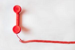 contact par telephone